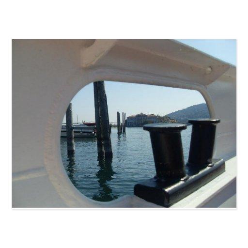 Opinión del agujero del puerto de Isola Bella de L Postal