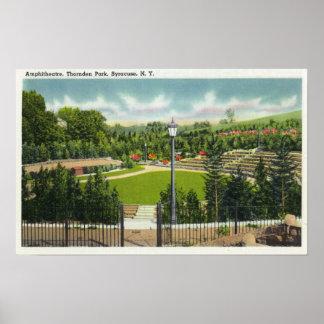 Opinión del Amphitheatre del parque de Thornden Impresiones