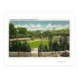 Opinión del Amphitheatre del parque de Thornden Tarjeta Postal