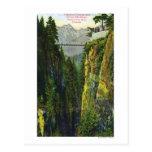 Opinión del barranco de Capilano de la montaña de  Postal