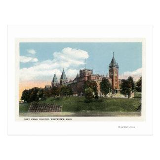Opinión del campus de la universidad cruzada santa tarjetas postales