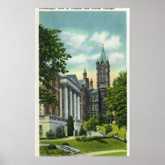 Opinión del campus de Syracuse U que muestra la un Poster