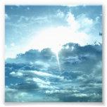 Opinión del cielo impresión fotográfica