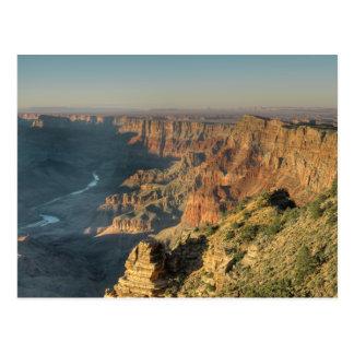 Opinión del desierto del Gran Cañón Tarjeta Postal
