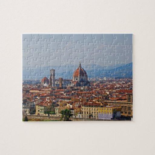 Opinión del Duomo de Florencia Italia Rompecabezas Con Fotos