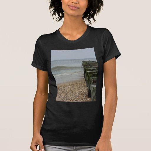Opinión del embarcadero camisetas
