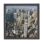Opinión del horizonte de Nueva York del Empire Sta Caja De Regalo De Calidad