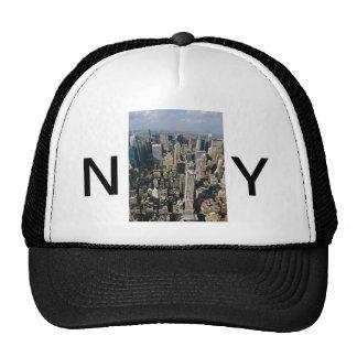 Opinión del horizonte de Nueva York del Empire Sta Gorro De Camionero