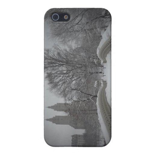 Opinión del invierno sobre el puente del arco, iPhone 5 carcasa