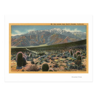 Opinión del jardín del diablo de Mt. San Jacinto # Postales