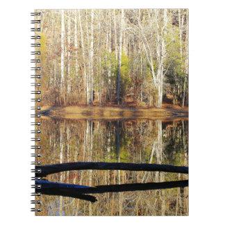 Opinión del lago cuaderno