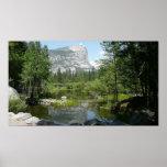 Opinión del lago mirror en el parque nacional de póster