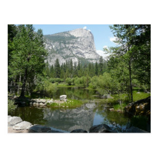 Opinión del lago mirror en el parque nacional de tarjeta postal