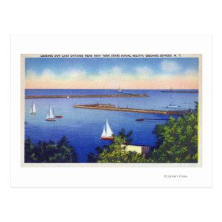 Opinión del lago Ontario Postales
