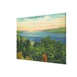 Opinión del lago Seneca Lienzo Envuelto Para Galerías