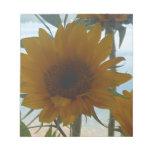 Opinión del lago sunflower bloc de papel