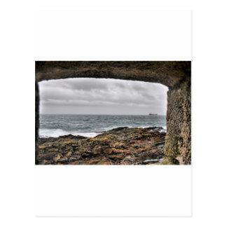 Opinión del mar postales