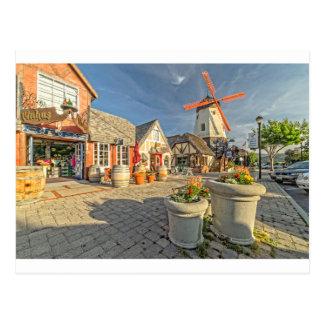 Opinión del molino de viento de Solvang Postal