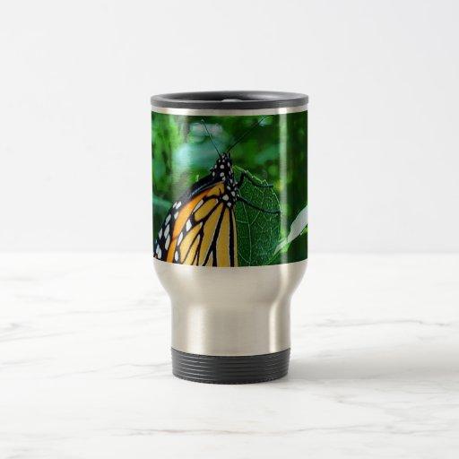 Opinión del monarca taza de viaje de acero inoxidable