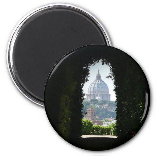 Opinión del ojo de la cerradura de la basílica de  imán redondo 5 cm