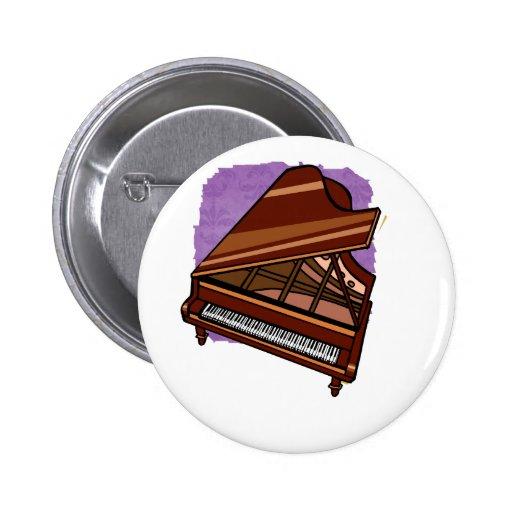 Opinión del ojo de pájaro de Brown del piano de co Pins
