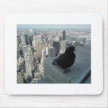 Opinión del ojo de pájaro de Nueva York Tapetes De Ratón