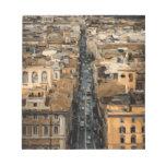 Opinión del ojo de pájaro de Roma, Italia Libreta Para Notas