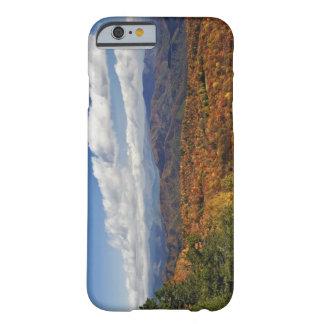 Opinión del otoño de montañas apalaches funda de iPhone 6 barely there