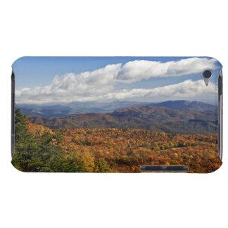 Opinión del otoño de montañas apalaches meridional iPod touch Case-Mate cobertura