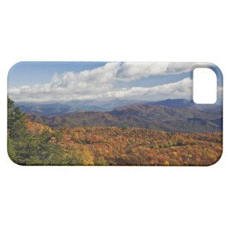 Opinión del otoño de montañas apalaches meridional iPhone 5 cobertura