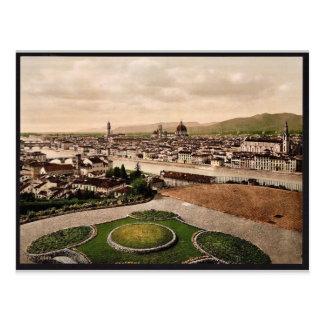 Opinión del paisaje urbano que mira hacia la cated tarjetas postales