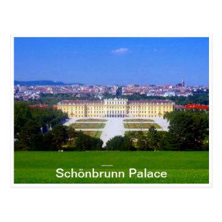opinión del palacio del schönbrunn tarjetas postales