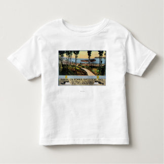 Opinión del parque del balboa de la ciudad, expo tee shirt