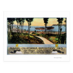 Opinión del parque del balboa de la ciudad, expo tarjeta postal
