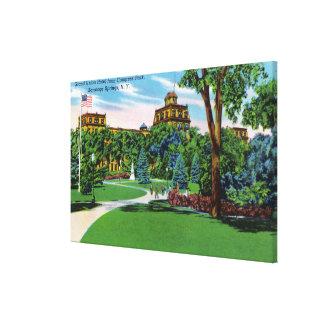 Opinión del parque del congreso del hotel magnífic impresiones de lienzo