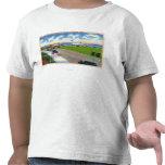 Opinión del parque del océano de los barcos que camiseta