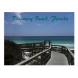 Opinión del paseo marítimo de la playa de Rosemary Postal