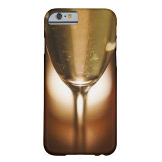 Opinión del primer del vidrio del champán funda para iPhone 6 barely there