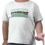 Opinión del puente de Bradford de la costa Camiseta