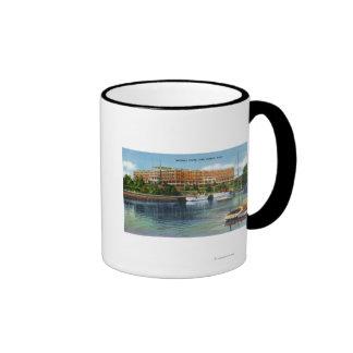 Opinión del puerto de York de la casa de Marshall Tazas De Café