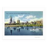 Opinión del río Connecticut del horizonte de Hartf Tarjeta Postal