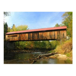 Opinión del río de Winchester NH del puente Postales