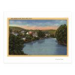 Opinión del río San Lorenzo de la ciudad Tarjeta Postal