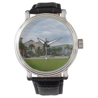 opinión del sur céntrica de Fort Pierce Reloj