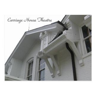 Opinión del teatro de la casa con cochera del postal