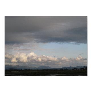 """Opinión del valle de Skagit Invitación 5"""" X 7"""""""