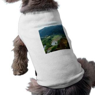 Opinión del valle playera sin mangas para perro