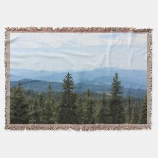 Opinión del valle sobre la manta del tiro del Mt