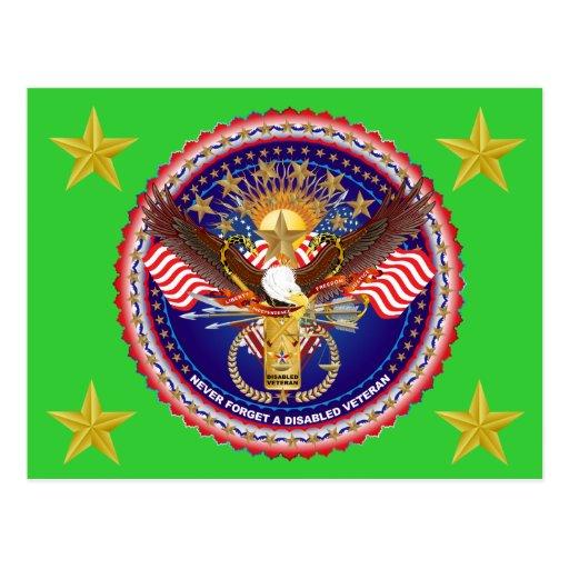 Opinión del veterano sobre diseño tarjetas postales