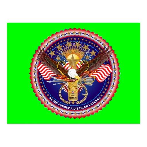 Opinión del veterano sobre diseño tarjeta postal